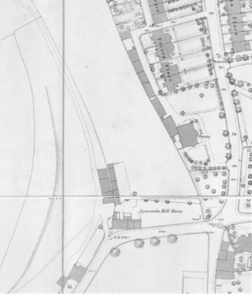 1885-6 Ordnance Survey map