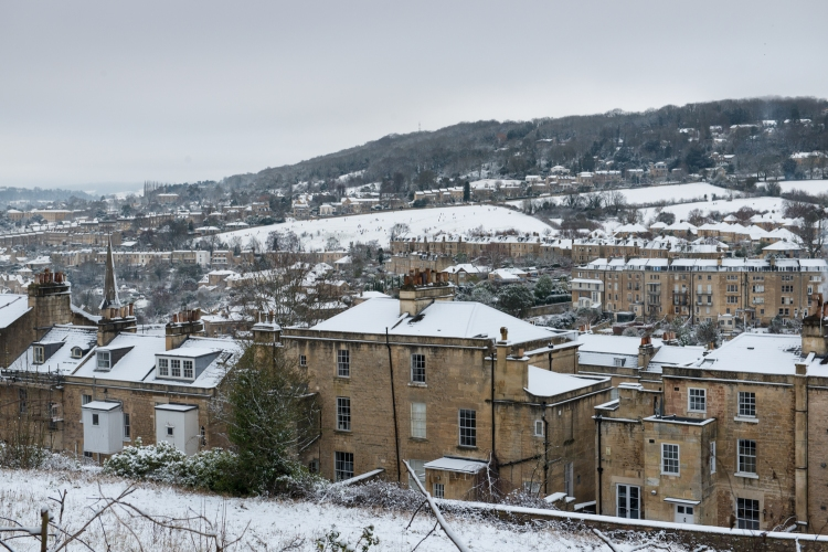 View from the East Field with snow - Photo: Matt Roberts