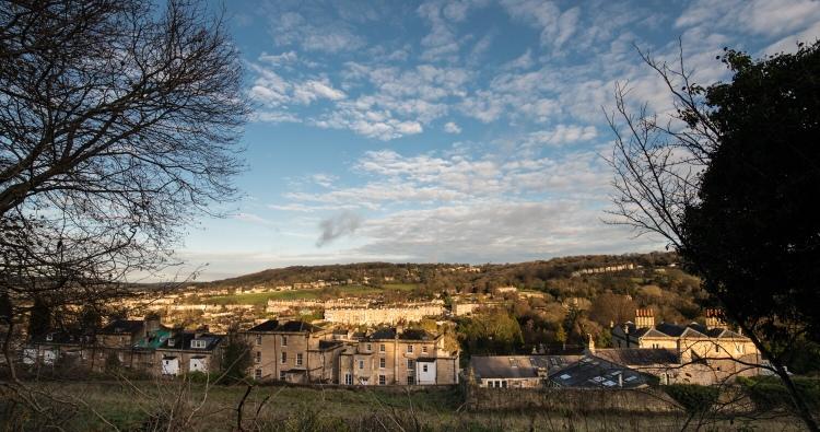 View towards Bathwick Hill